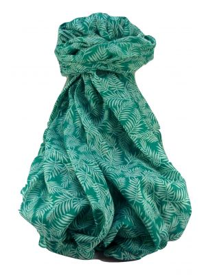 Supersized Handloom Saurshatra Cotton Scarf or Stole RAJKOT Pattern by Pashmina & Silk