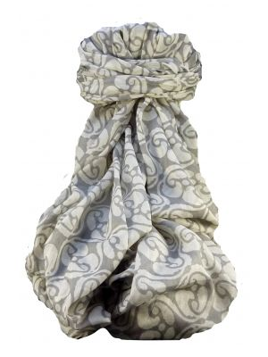 Supersized Handloom Saurshatra Cotton Scarf or Stole Kalyanpur Pattern by Pashmina & Silk