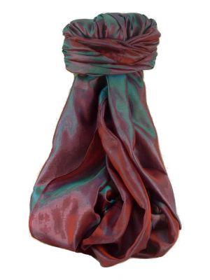 Varanasi Silk Long Scarf Heritage Range KASHYAP 4 by Pashmina & Silk