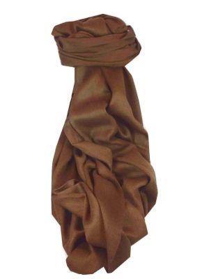Fine Cashmere Stole Karakoram Birds-Eye Weave Chocolate by Pashmina & Silk