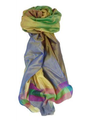 Varanasi Ekal Premium Silk Long Scarf Heritage Range Tamwar 4 by Pashmina & Silk