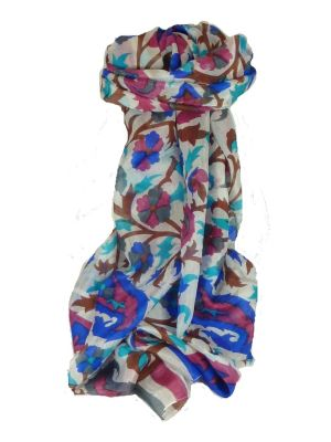 Mulberry Silk Contemporary Long Scarf Mooli Copper by Pashmina & Silk