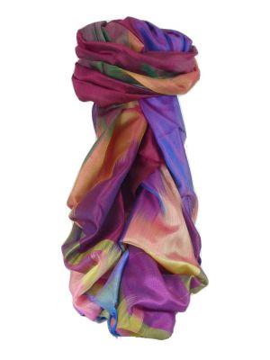 Varanasi Ekal Premium Silk Long Scarf Heritage Range Tamwar 8 by Pashmina & Silk
