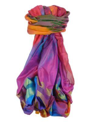 Varanasi Ekal Premium Silk Long Scarf Heritage Range Tamwar 10 by Pashmina & Silk