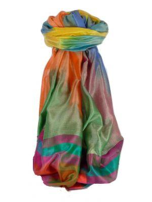 Varanasi Ekal Premium Silk Long Scarf Heritage Range Tiwari 3 by Pashmina & Silk