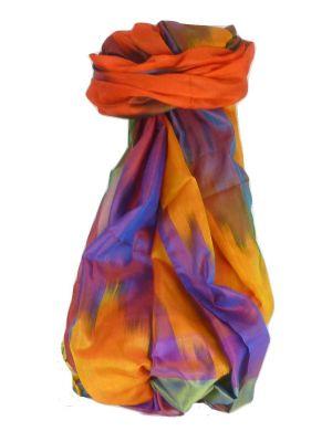 Varanasi Ekal Premium Silk Long Scarf Heritage Range Tiwari 9 by Pashmina & Silk