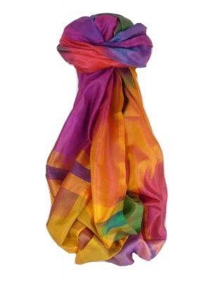 Varanasi Ekal Premium Silk Long Scarf Heritage Range Batra 1 by Pashmina & Silk
