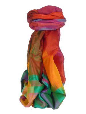 Varanasi Ekal Premium Silk Long Scarf Heritage Range Batra 2 by Pashmina & Silk