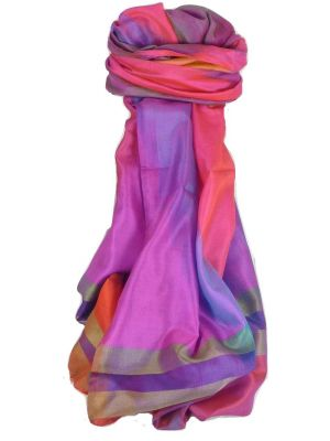 Varanasi Ekal Premium Silk Long Scarf Heritage Range Batra 4 by Pashmina & Silk