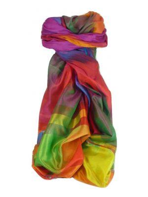 Varanasi Ekal Premium Silk Long Scarf Heritage Range Batra 5 by Pashmina & Silk
