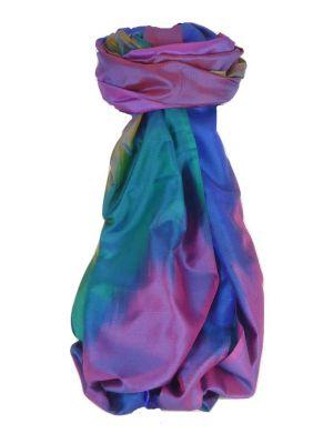 Varanasi Ekal Premium Silk Long Scarf Heritage Range Batra 6 by Pashmina & Silk