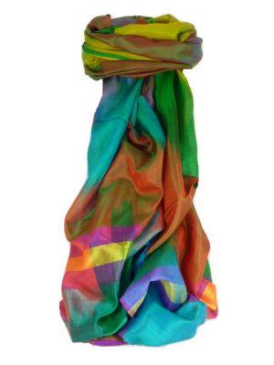 Varanasi Ekal Premium Silk Long Scarf Heritage Range Batra 10 by Pashmina & Silk