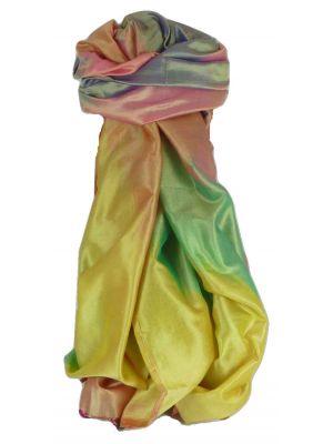 Varanasi Ekal Premium Silk Long Scarf Heritage Range Popat 5 by Pashmina & Silk