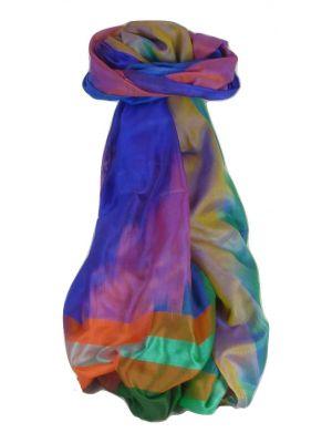 Varanasi Ekal Premium Silk Long Scarf Heritage Range Popat 8 by Pashmina & Silk