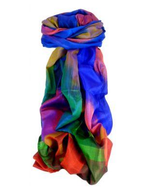 Varanasi Ekal Premium Silk Long Scarf Heritage Range Malik 1 by Pashmina & Silk