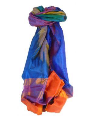 Varanasi Ekal Premium Silk Long Scarf Heritage Range Malik 2 by Pashmina & Silk
