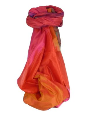 Varanasi Ekal Premium Silk Long Scarf Heritage Range Malik 5 by Pashmina & Silk