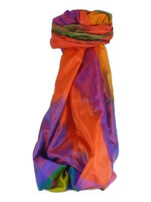 Varanasi Ekal Premium Silk Long Scarf Heritage Range Malik 7 by Pashmina & Silk