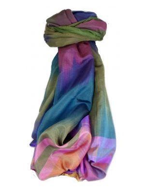 Varanasi Ekal Premium Silk Long Scarf Heritage Range Narayan 3 by Pashmina & Silk