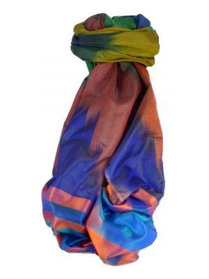 Varanasi Ekal Premium Silk Long Scarf Heritage Range Narayan 9 by Pashmina & Silk