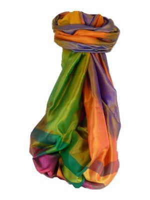Varanasi Ekal Premium Silk Long Scarf Heritage Range Narayan 10 by Pashmina & Silk