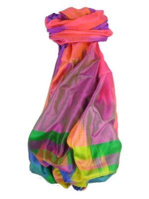 Varanasi Ekal Premium Silk Long Scarf Heritage Range Bharat 3 by Pashmina & Silk