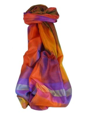 Varanasi Ekal Premium Silk Long Scarf Heritage Range Bharat 7 by Pashmina & Silk