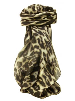 Mulberry Silk Contemporary Square Scarf Abstract A302 by Pashmina & Silk