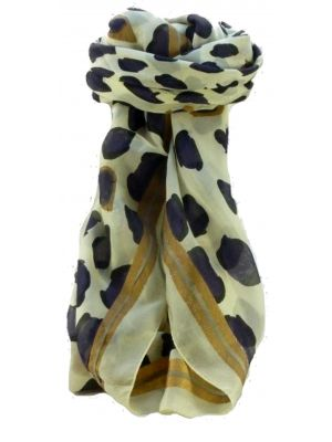 Mulberry Silk Contemporary Square Scarf Abstract A305 by Pashmina & Silk