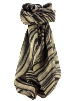 Mulberry Silk Contemporary Square Scarf Abstract A309 by Pashmina & Silk