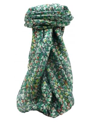 Mulberry Silk Contemporary Square Scarf Abstract A312 by Pashmina & Silk