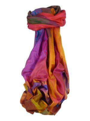 Varanasi Ekal Premium Silk Long Scarf Heritage Range Jagg 1 by Pashmina & Silk