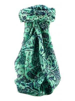 Mulberry Silk Contemporary Square Scarf Abstract A314 by Pashmina & Silk