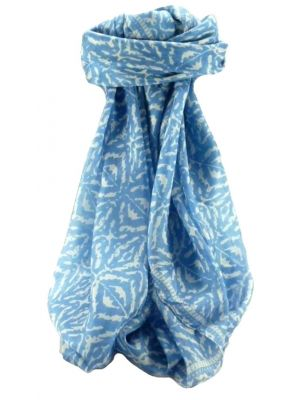 Mulberry Silk Contemporary Square Scarf Abstract A316 by Pashmina & Silk