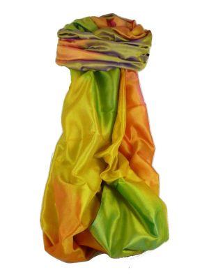 Varanasi Ekal Premium Silk Long Scarf Heritage Range Jagg 4 by Pashmina & Silk