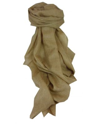 Pashmina Premium Cashmere Stole in Sable by Pashmina & Silk