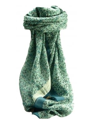 Mulberry Silk Contemporary Square Scarf Abstract A319 by Pashmina & Silk