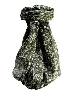 Mulberry Silk Contemporary Square Scarf Abstract A320 by Pashmina & Silk