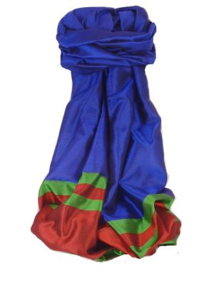 Varanasi Border Prime Silk Long Scarf Heritage Vijaya 204 by Pashmina & Silk