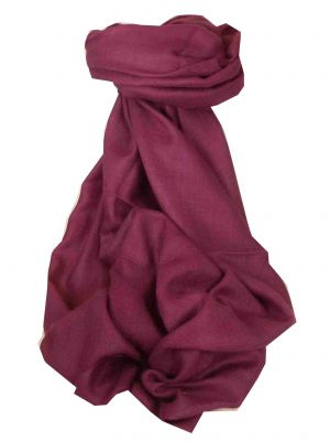 Pashtoosh Luxury Cashmere Shawl Plum by Pashmina & Silk