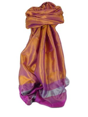 Varanasi Border Prime Silk Long Scarf Heritage Sandeep 306 by Pashmina & Silk