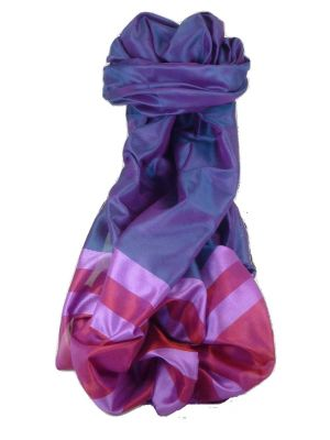 Varanasi Border Prime Silk Long Scarf Heritage Sandeep 308 by Pashmina & Silk