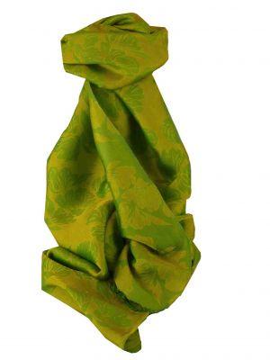 Vietnamese Silk Scarf Reversible Hoi-An Yen-Phu Jade by Pashmina & Silk