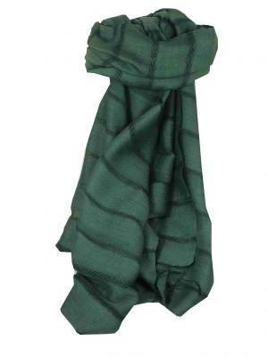 Vietnamese Long Silk Scarf Hue Weave Slate by Pashmina & Silk