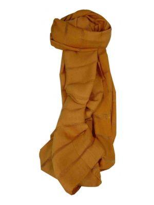 Vietnamese Long Silk Scarf Hue Weave Umber by Pashmina & Silk
