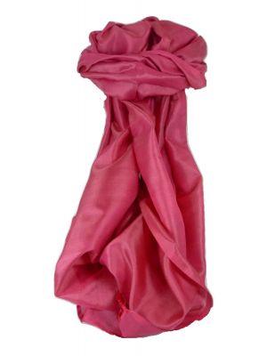 Varanasi Silk Long Scarf Heritage Range Pawan 1 Carnation by Pashmina & Silk