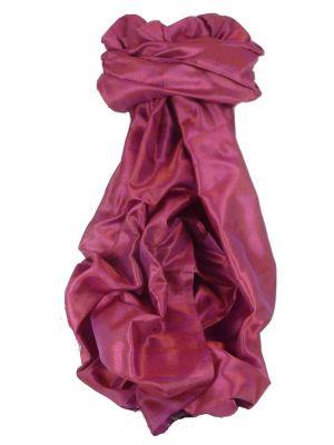 Varanasi Silk Long Scarf Heritage Range Mittal 4 Carnation by Pashmina & Silk