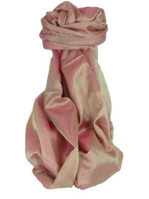 Varanasi Silk Long Scarf Heritage Range Sahni 1 Carnation by Pashmina & Silk