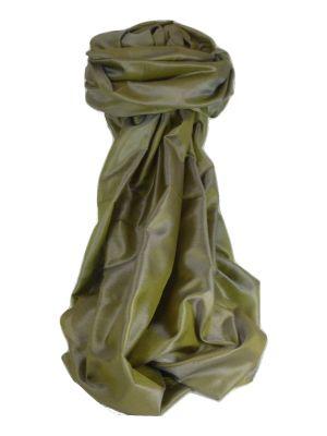 Varanasi Silk Long Scarf Heritage Range Anand 4 Pearl by Pashmina & Silk