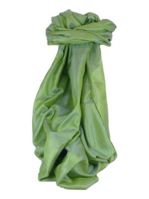 Varanasi Silk Long Scarf Heritage Range Prasad 2 Apple by Pashmina & Silk